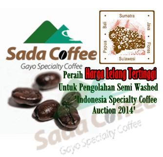 Sada Coffee, Peraih Harga Lelang Tertinggi