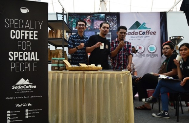 micf2016 sada coffee Booth