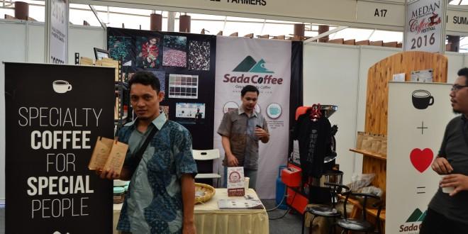 Sada Coffee on 3rd Medan International Coffee Festival 2016