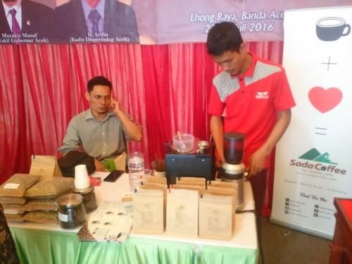 Sada Coffee hadir di event Peda KTNA Aceh 2016
