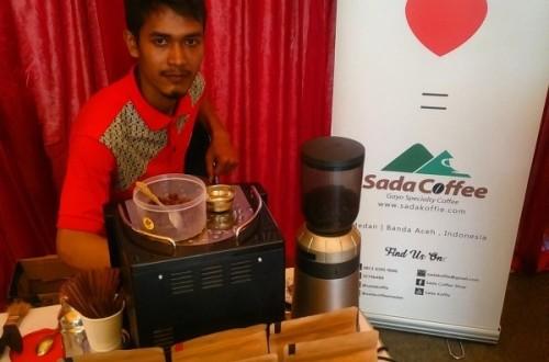 sada coffee on PEDA KTNA 2016