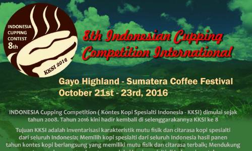 SADA COFFEE on Kontes Kopi Specialty Indonesia Ke 8