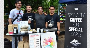 Sada Coffee on Car Free Day Jakarta 16 oktober 2016