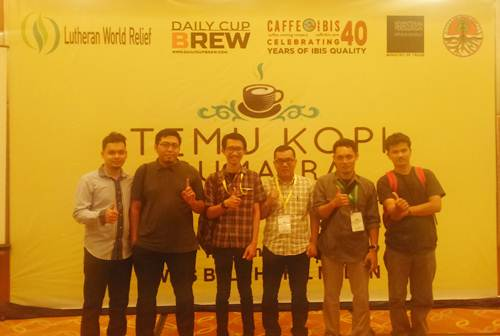 Temu Kopi Sumatra 2016, support by Lutheran World Relief
