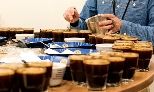 Cupping Coffee Uji cita rasa