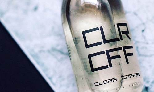 Clear Coffee, Minuman Kafein Tanpa Warna