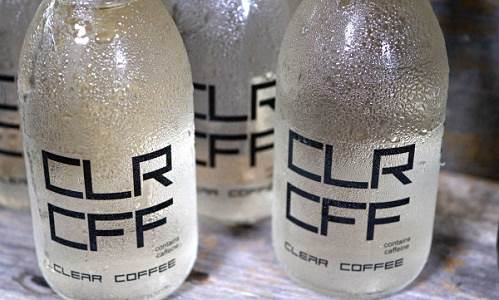 Clear Coffee, Minuman Kafein Tanpa Warna