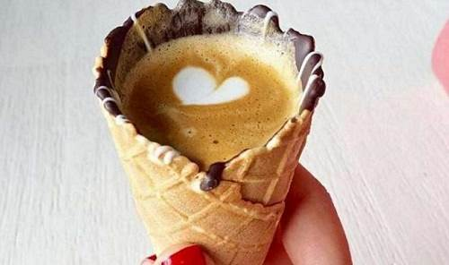 Kopi Ala Cone Ice Cream