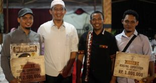 Sada Coffee Sabet 2 Juara Aceh Coffee Master
