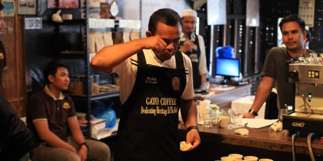 Kalibrasi Cupping with Q Arabica Grader