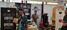 Sada Coffee on 3rd Medan International Coffee Festival 2016