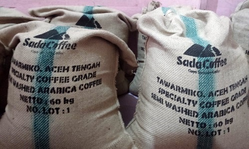 Arabica specialty coffee ready to shipping